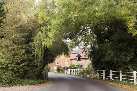A view of Corpusty mill