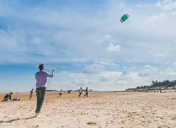 kite flying hunstanton