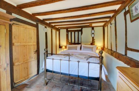 Bedroom at Apple Tree Cottage