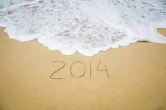 2014 written in the sand