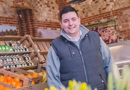 Meet our Champion for Edible Norfolk - Sam Bagge