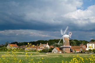 Cley Windmill in North Norfolk
