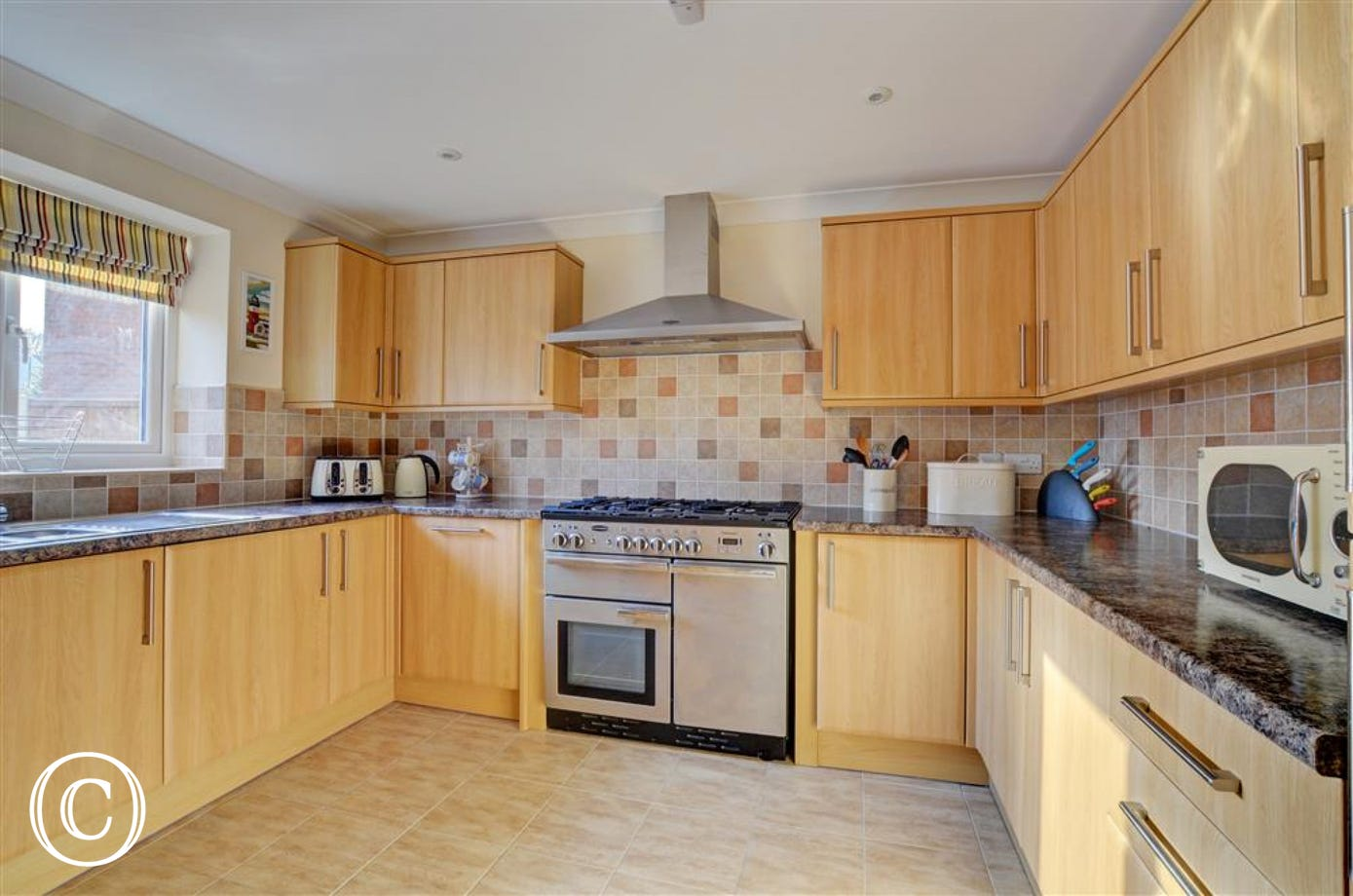 Lovely modern kitchen equipped with everything you need for your self catering break