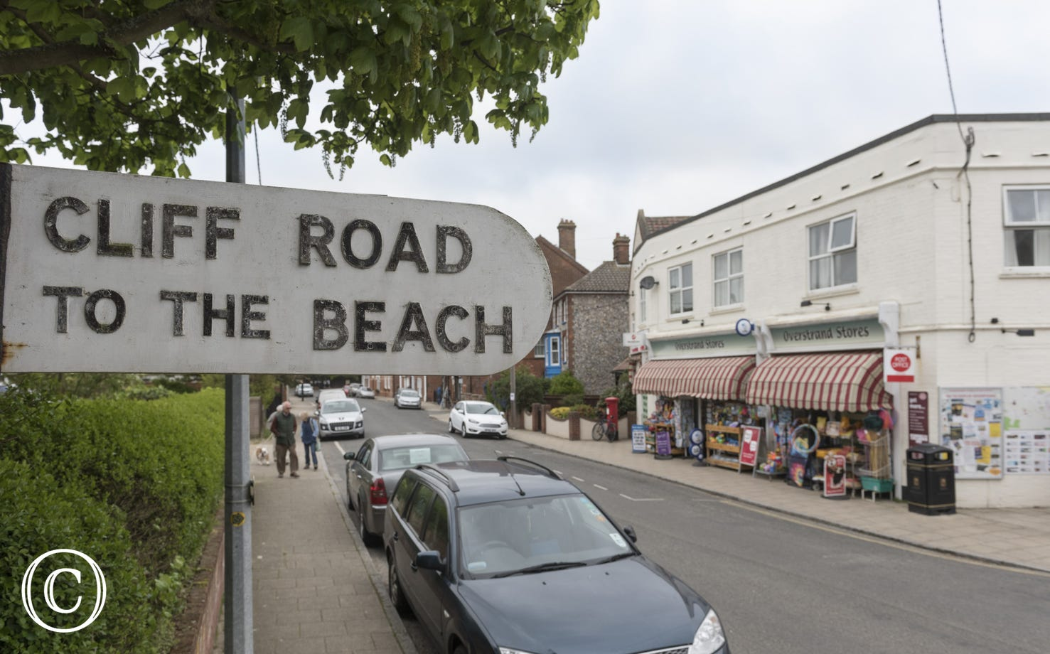 High Street in Overstrand