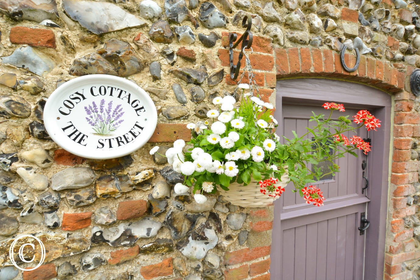 Cosy Cottage Nameplate