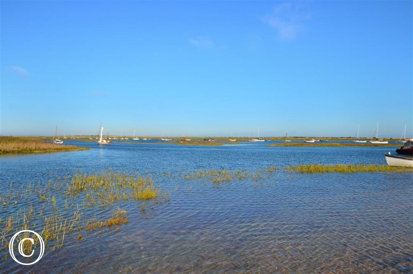 The Staithe is a popular place with sailors and birdwatchers at any time of the year