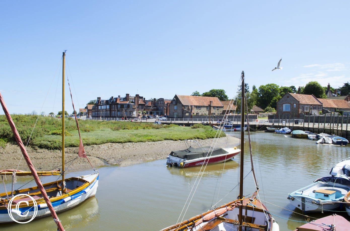 Blakeney Quay which is within walking distance