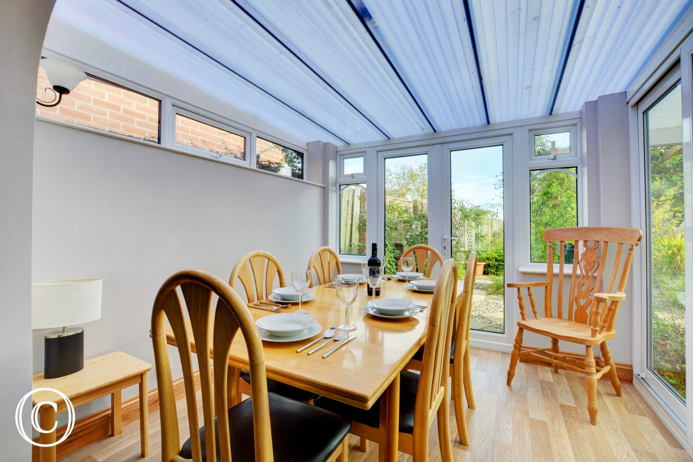 This property benefits from a lovely conservatory with additional dining