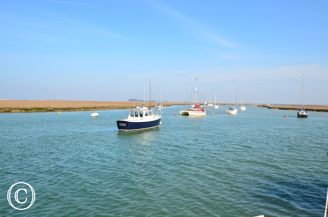 A lovely view of Wells Quay