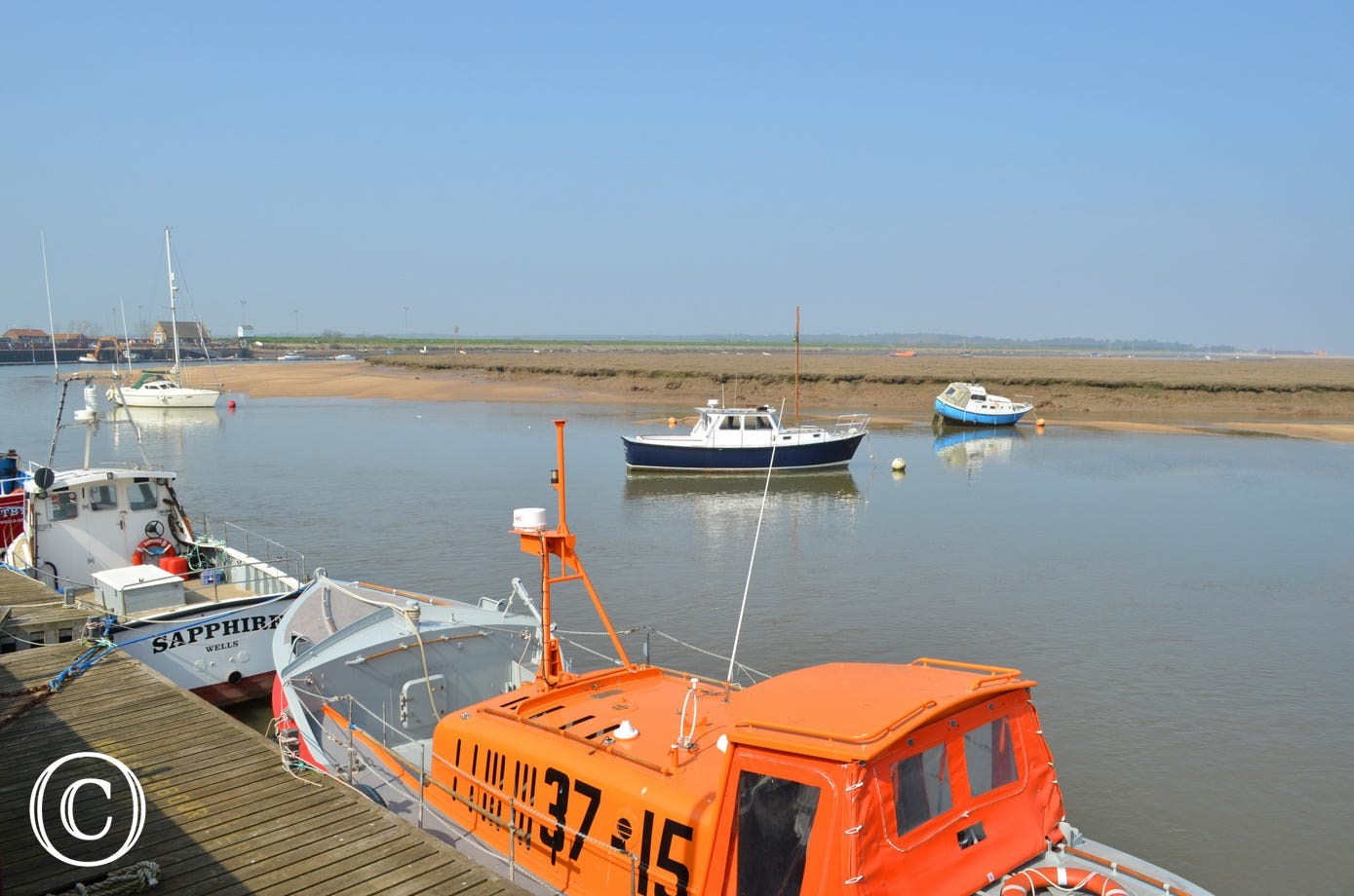 Super view of Wells Quay
