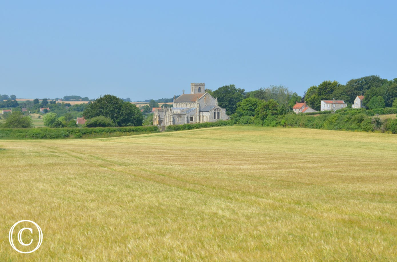 View to Cley Church