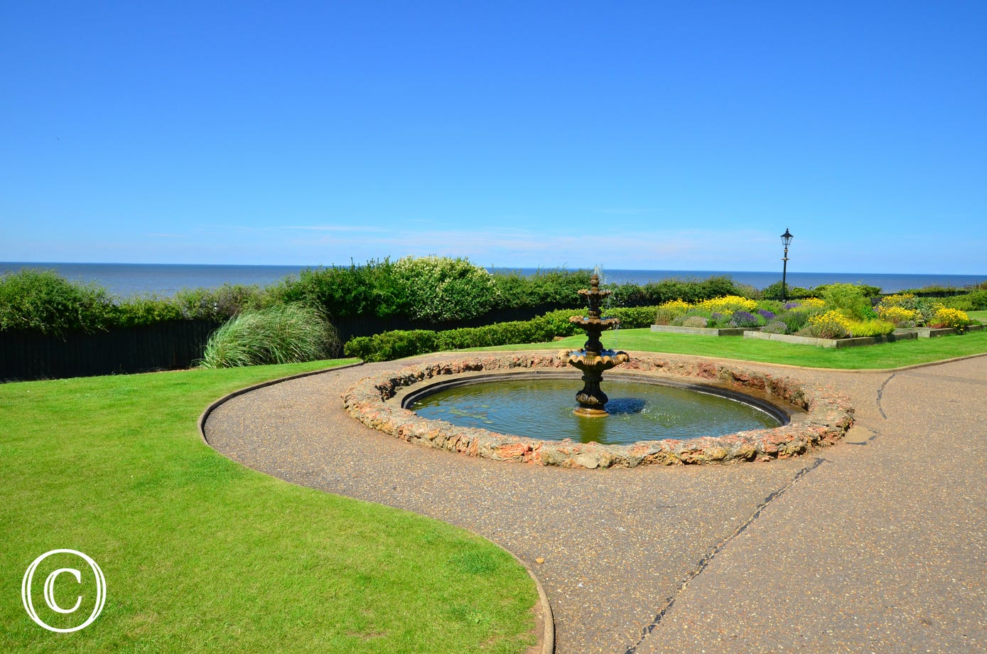 Looking towards the sea at Hunstanton