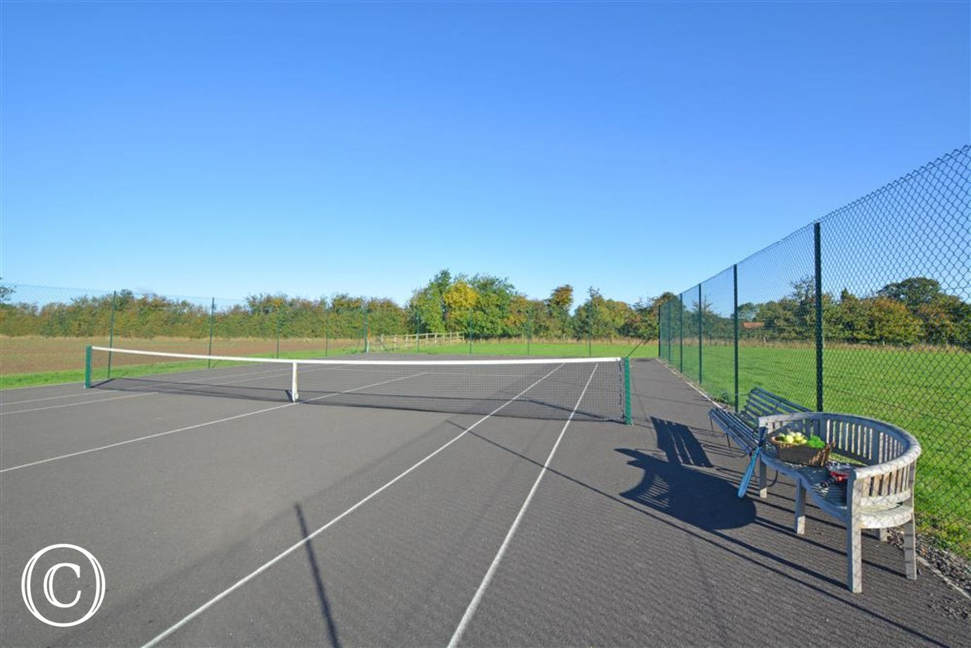 Tennis Court View 2