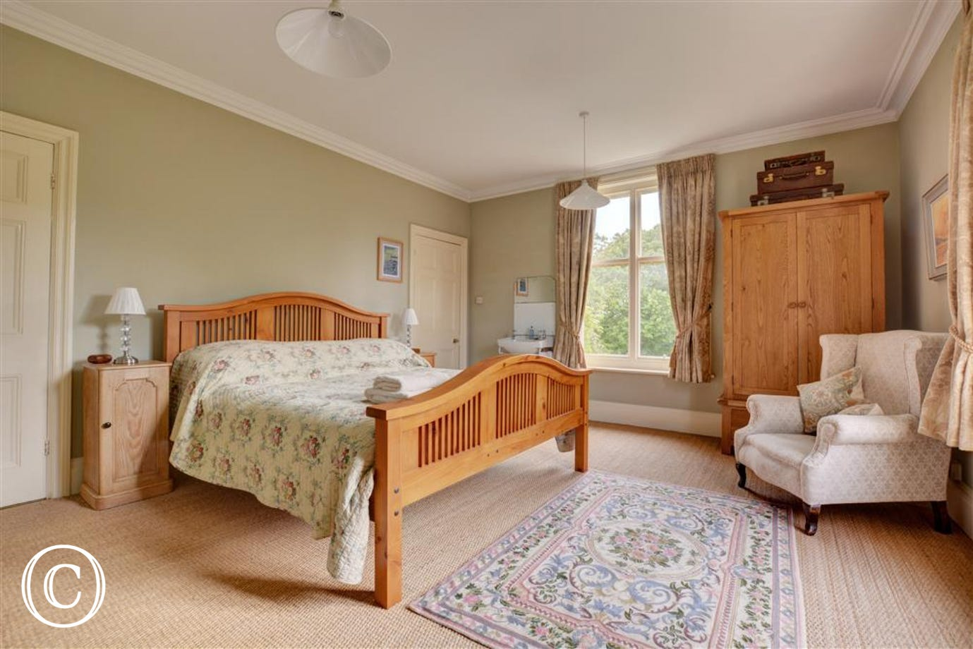 Bedroom one is a stunning room with super king bed and an en-suite shower room