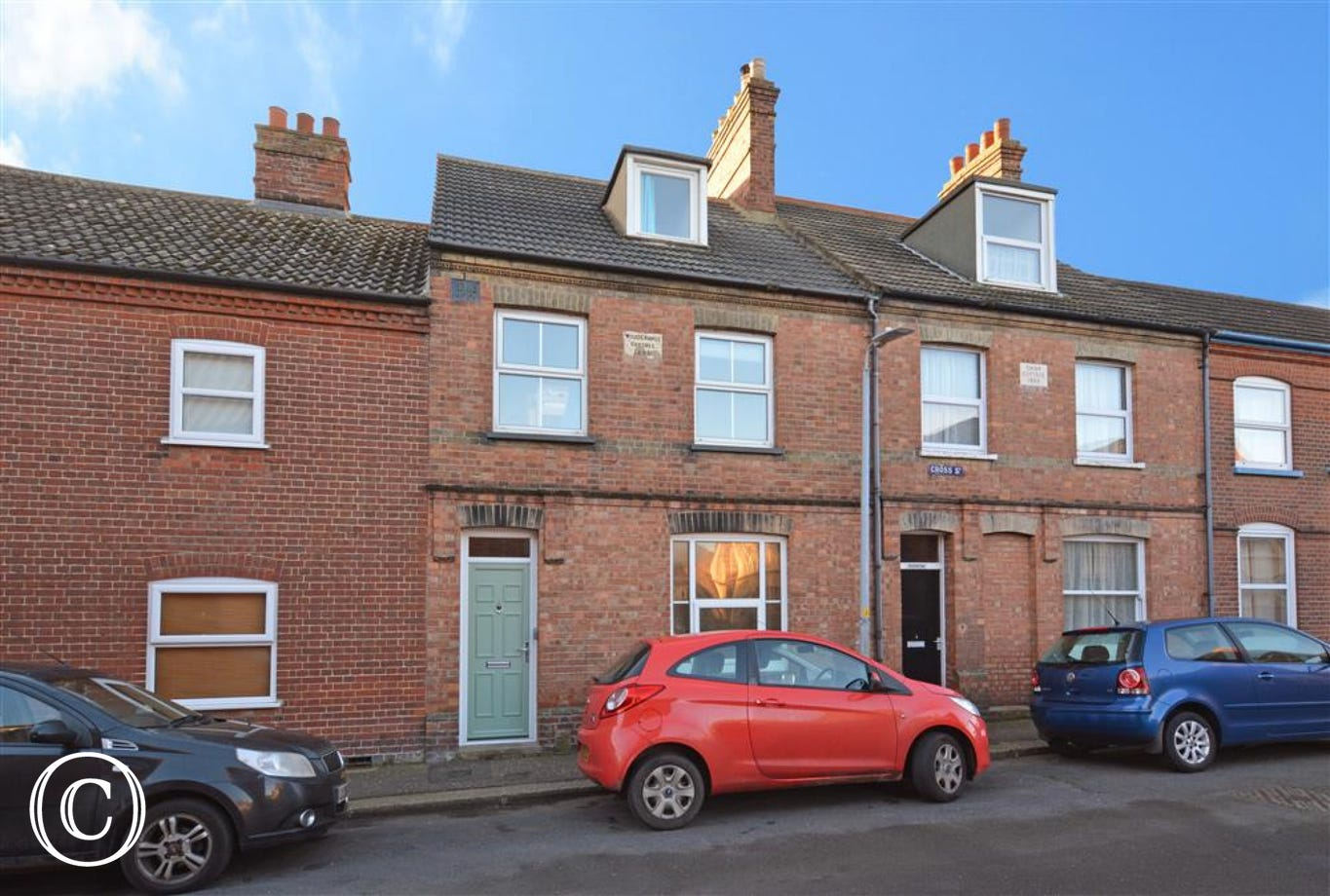 Exterior image of this attractive terraced property
