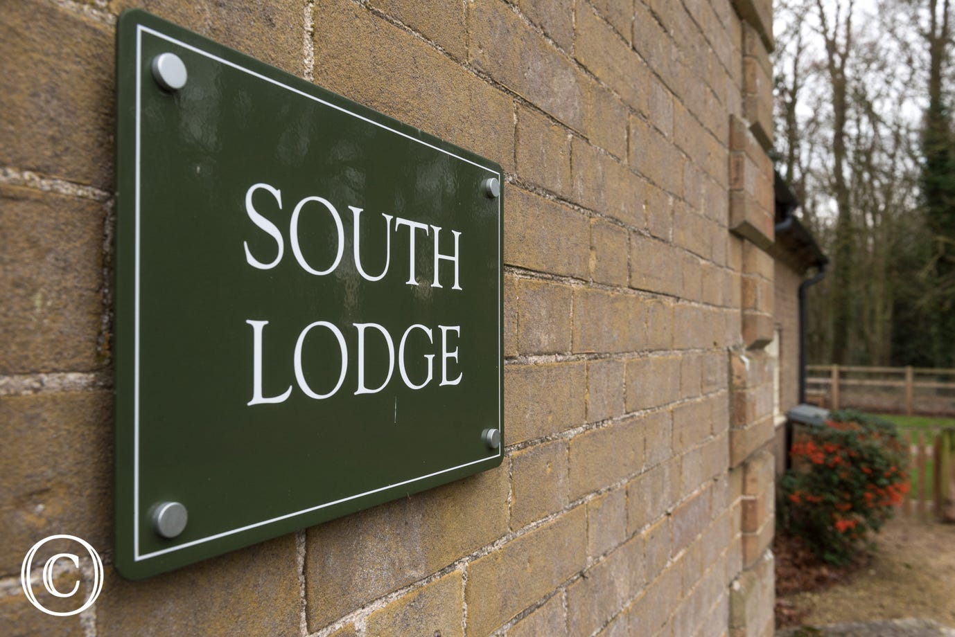 South Lodge Nameplate