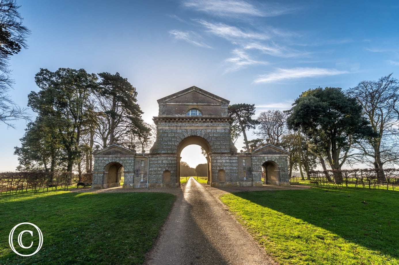 The Triumphal Arch - Holkham