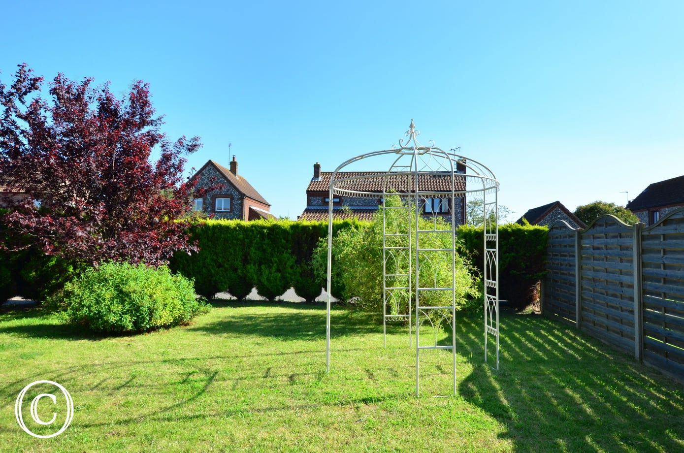 There is a fully enclosed rear garden, which is ideal for children and pets