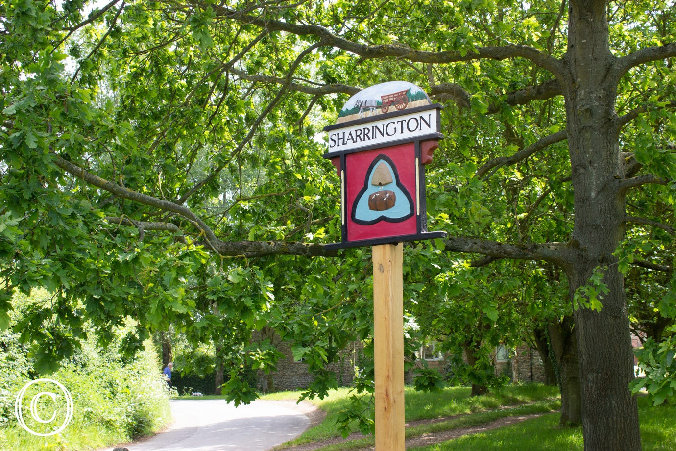Sharrington village sign