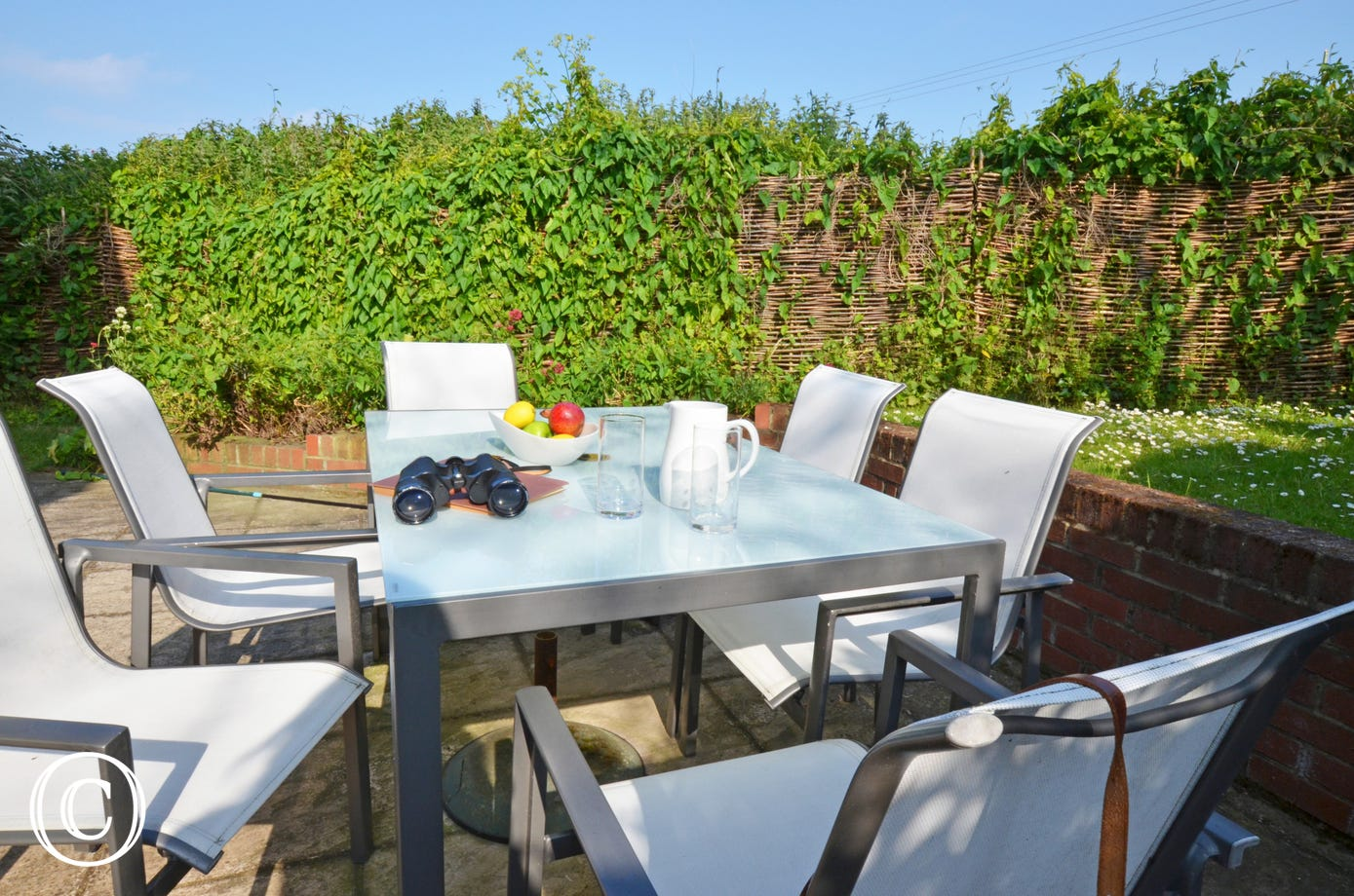 Patio table and chairs - perfect for dining alfresco