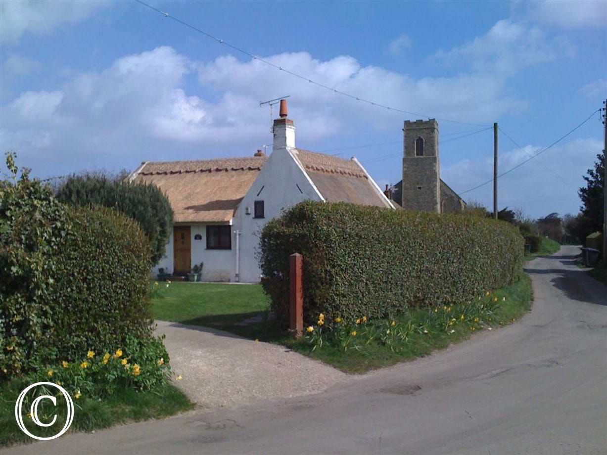 View of Old Cottage from the road