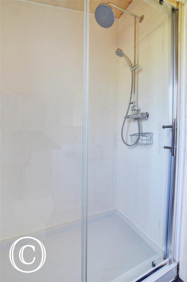 Shower within the en suite