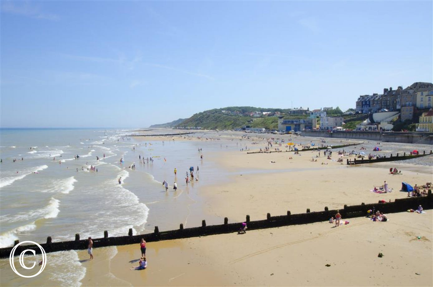 Hanworth is only 6 miles from the sandy beach at Cromer