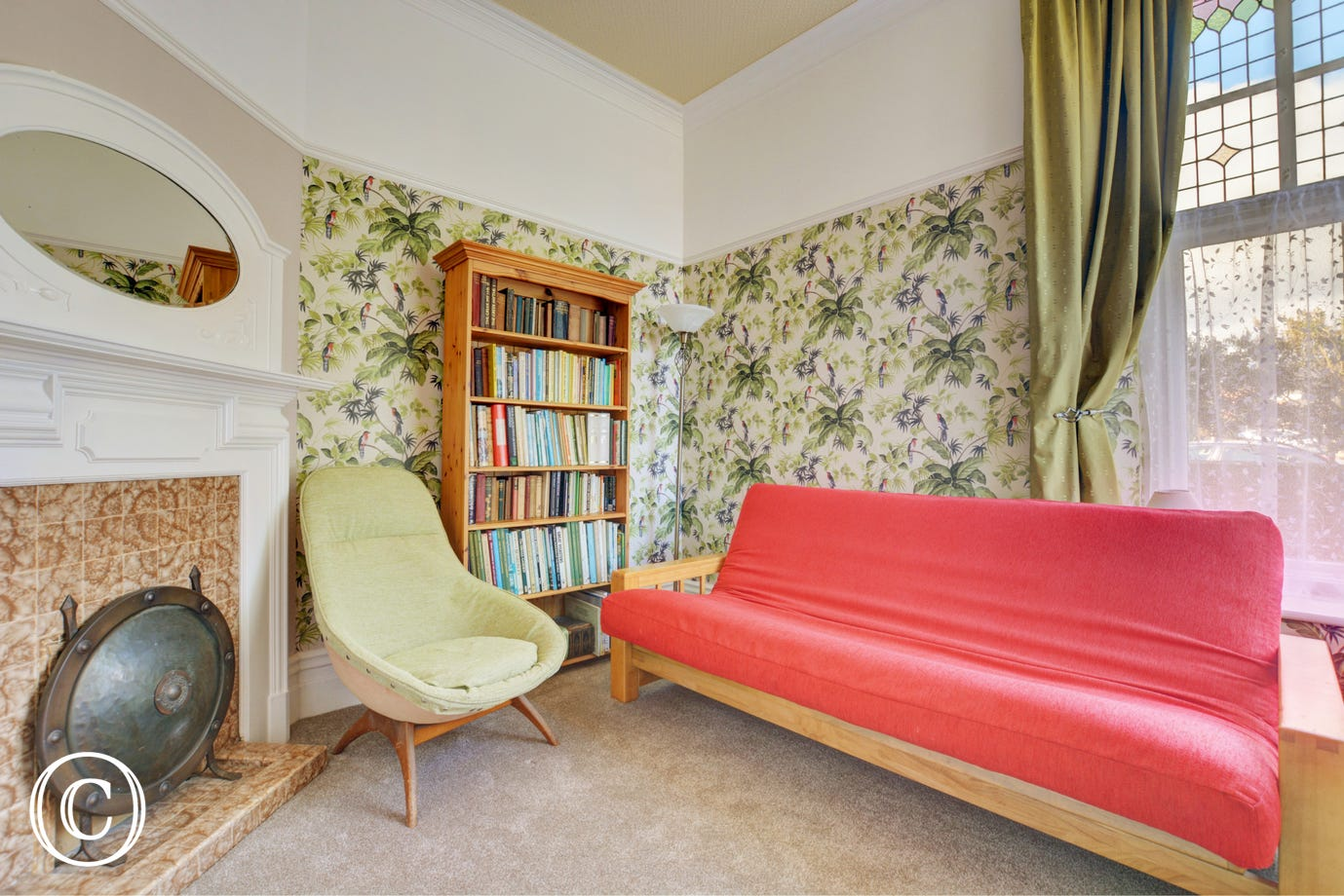Ground floor snug  with double futon which could be used as alternatively sleeping arrangements – please request on booking