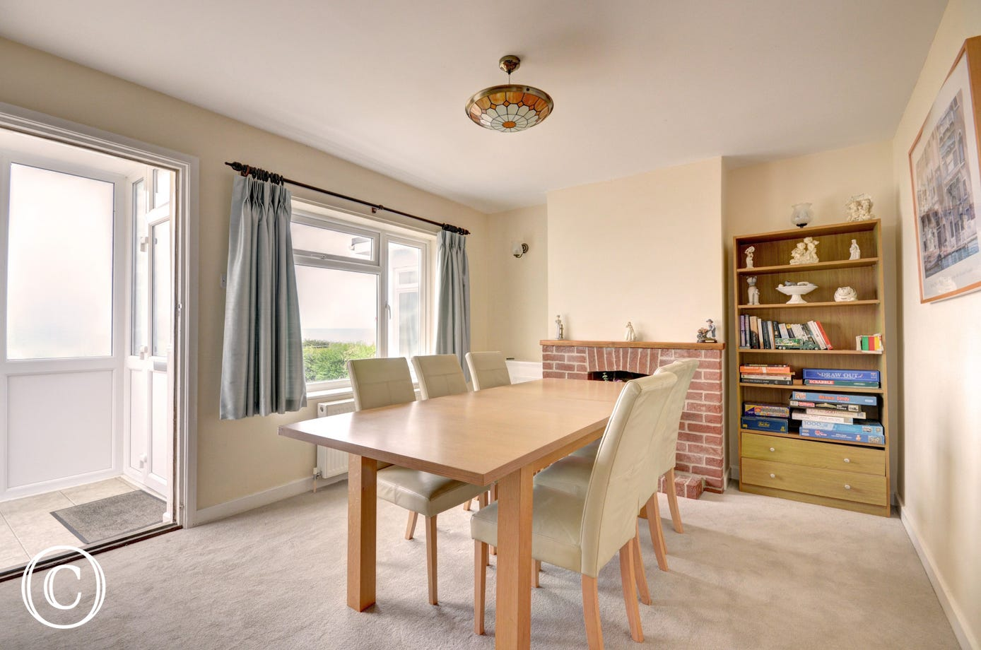 Dining Room with table and chairs - the perfect spot to enjoy a meal whilst planning the next days adventure!