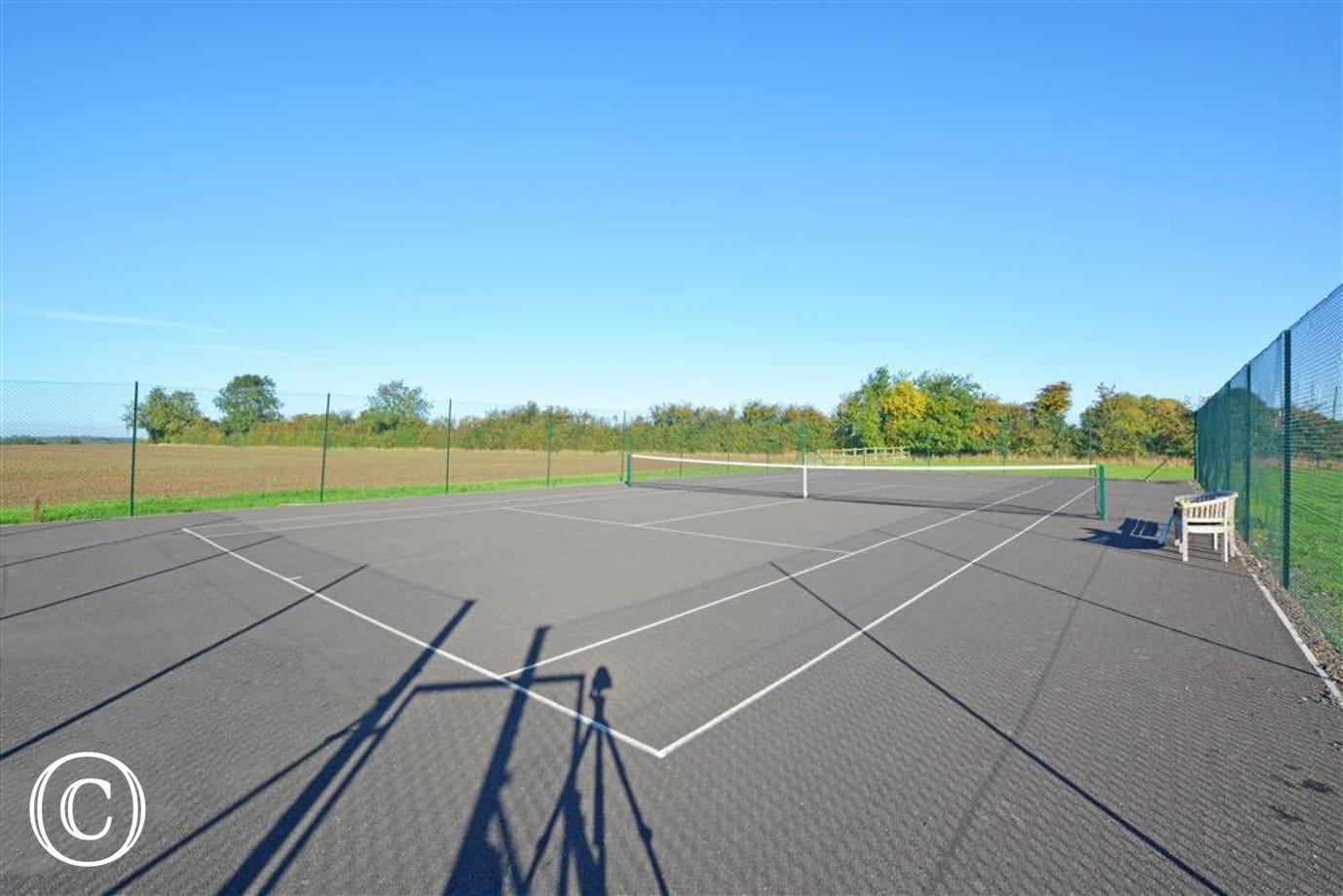 Tennis Court View 1