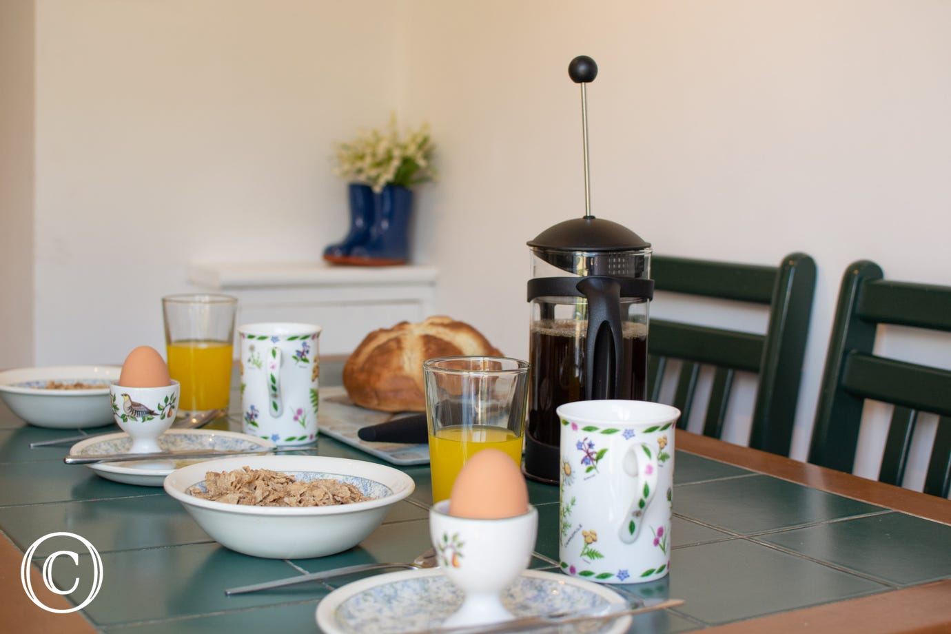 Breakfast at Laburnum House
