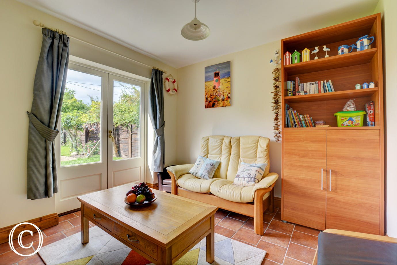 Sun room - perfect for a spot of relaxing with a book