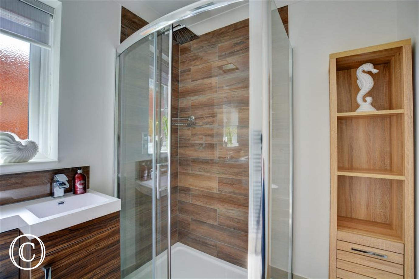 Lovely shower room