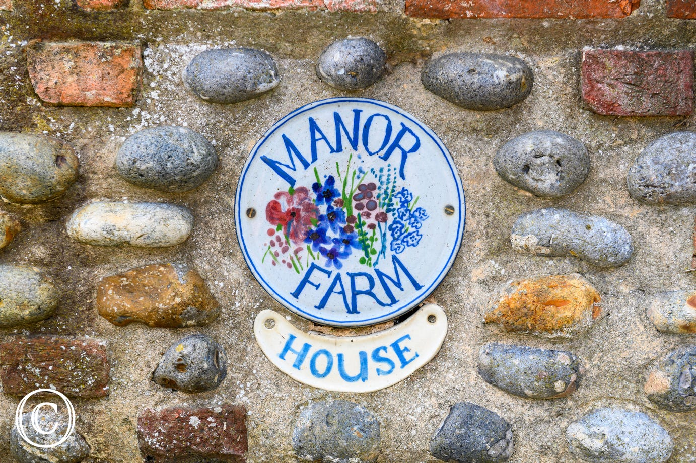 Nameplate for Manor Farm House