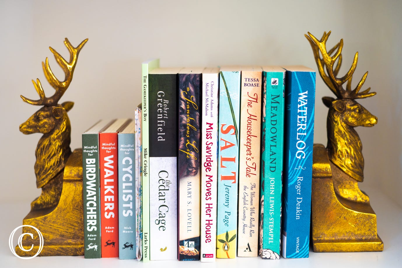 Feature bookends at South Lodge East