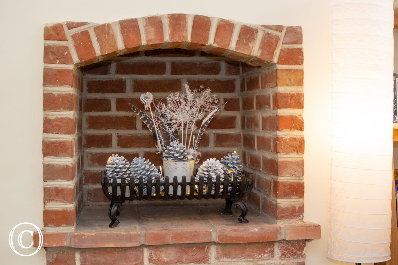 Larkrise feature fireplace