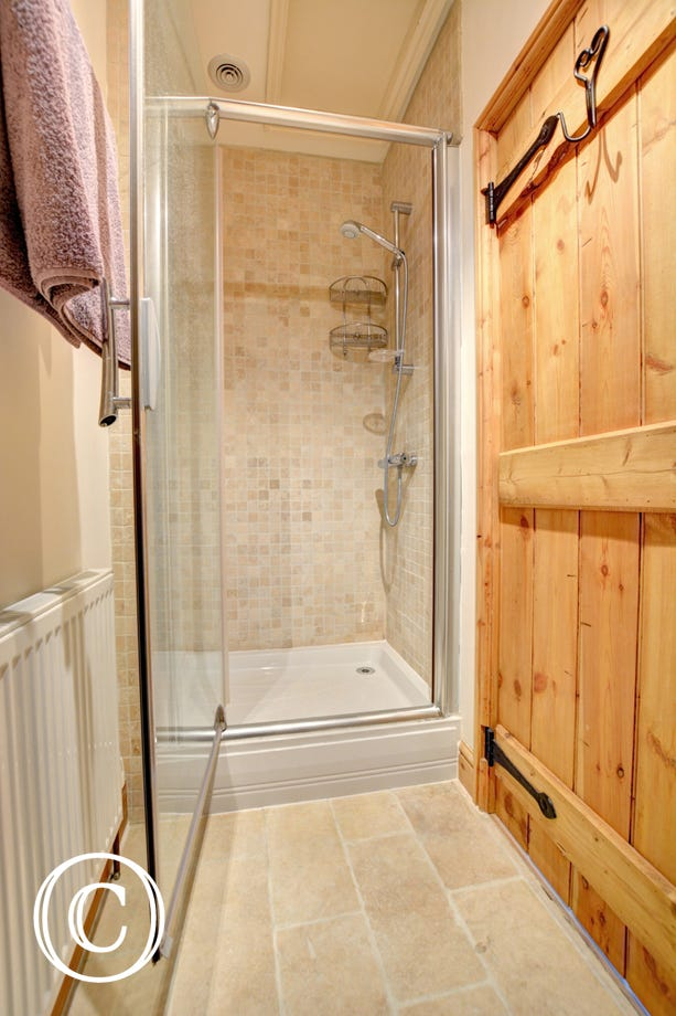 Shower Room with shower cubicle, washbasin and wc