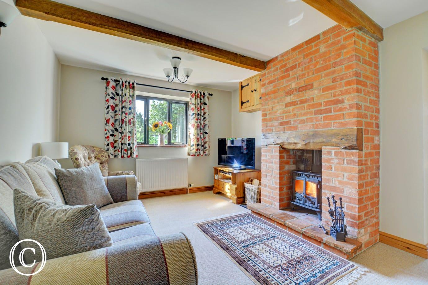 Brick Kiln Cottage (1788) | Norfolk Cottages on brick steps design, house on stilts designs, brick interior design, house with roof terrace,
