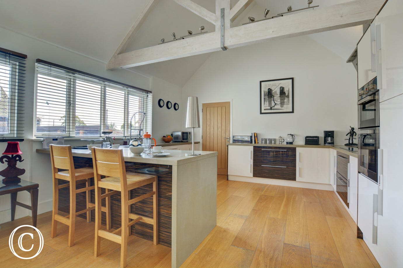 Open plan kitchen, Taylors Barn