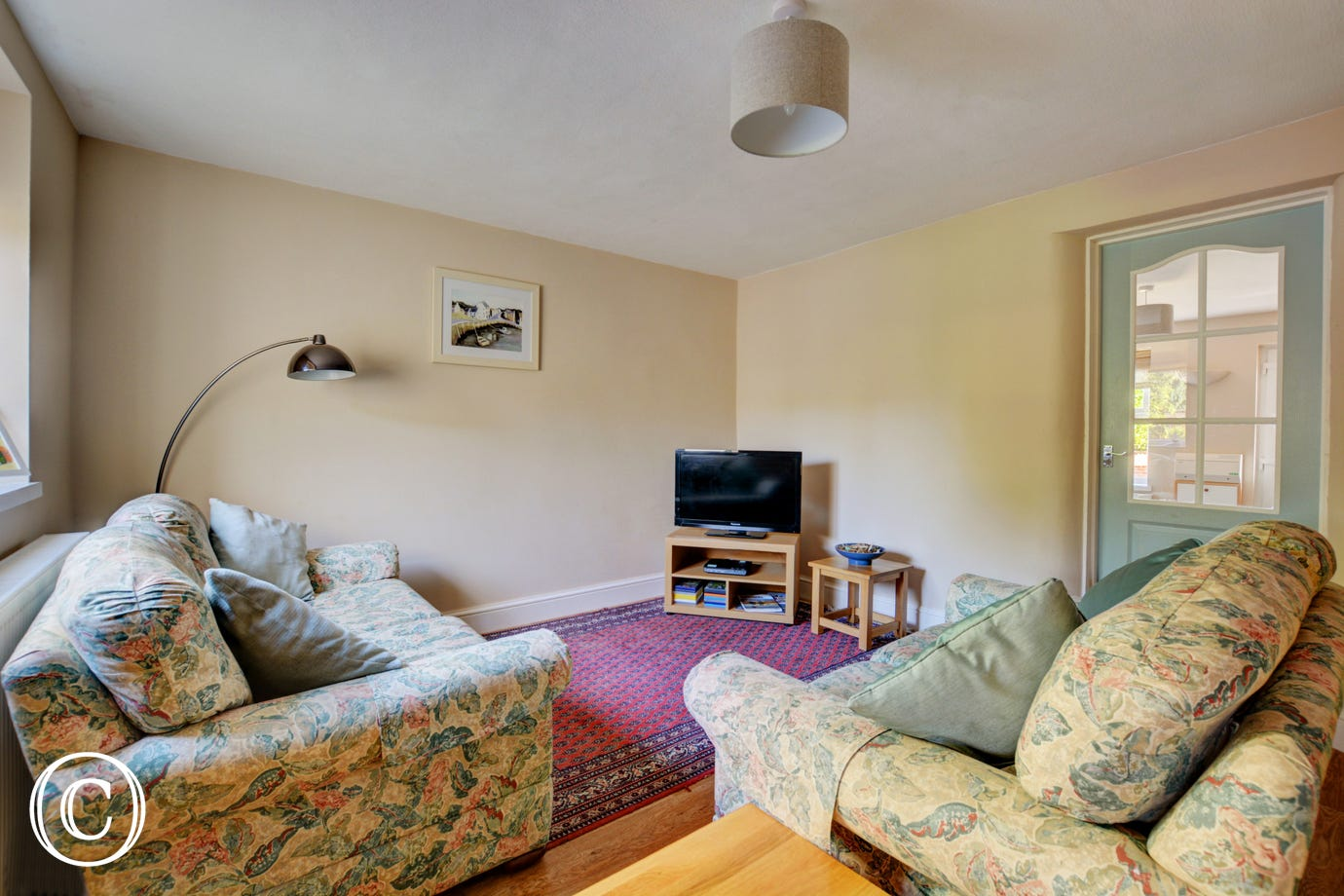 This property has the added convenience of a second sitting room