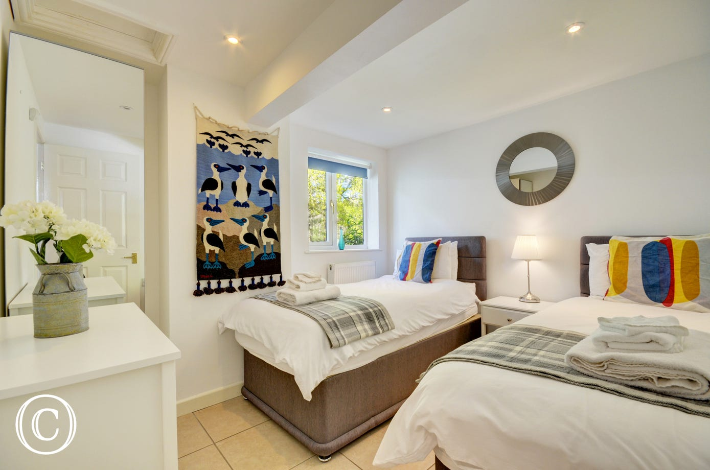 Twin Room - cosy room with twin beds