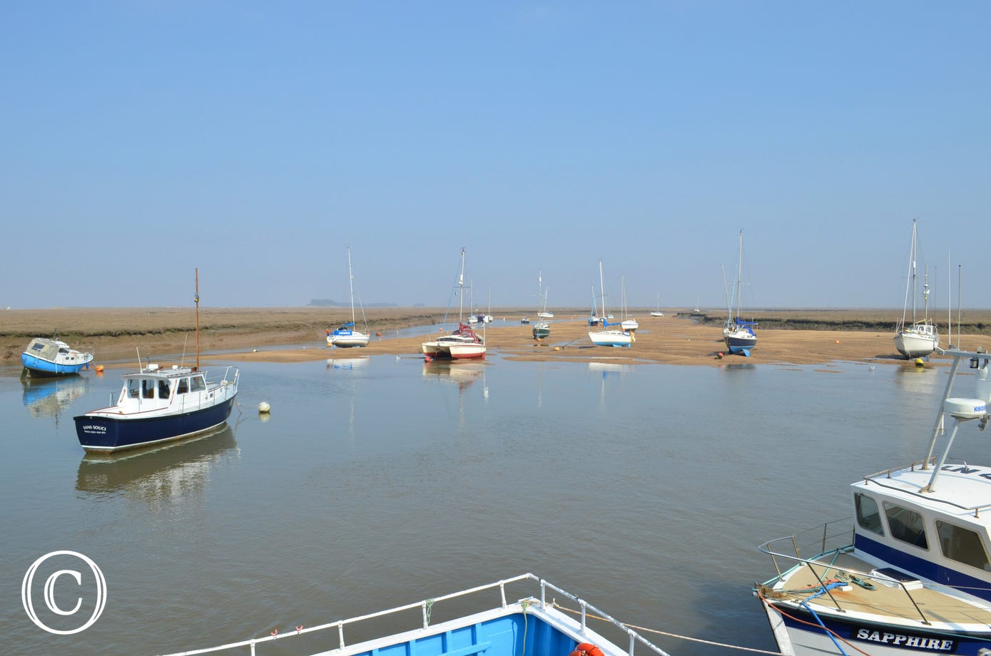 Golden Lion Barn is just 8 miles from Wells Quay