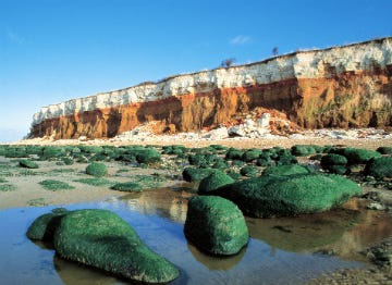 The Cliffs at Hunstanton in Norfolk