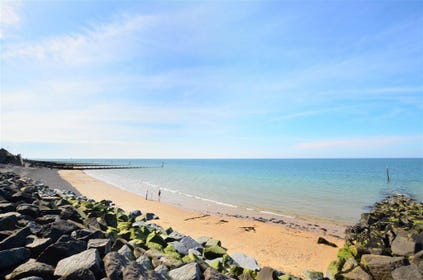 The stunning beach at Sheringham