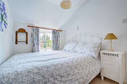 Bedroom one is a light and airy room with a double bed