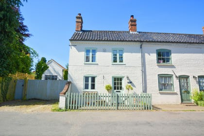 Exterior image of this charming end of terrace cottage