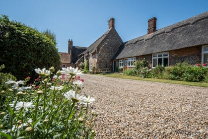 One of four beautifully refurbished cottages that are set in the extensive mature and secure gardens and grounds of the 16th century Grade II listed Pilgrims House
