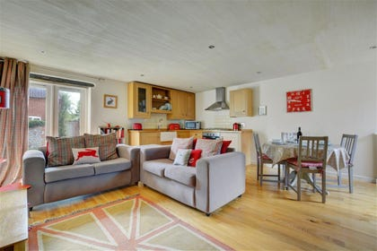 Beautifully decorated with attention to detail this open plan room is perfect for families
