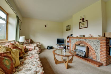 A flat screen TV, DVD/video player and electric fire in the sitting room for those cosy evenings in.