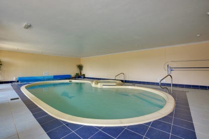 The pool under the apartment may be used by guests for 2 hours a day